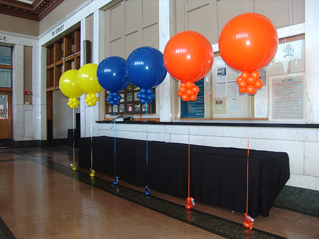 union station balloons metro denver