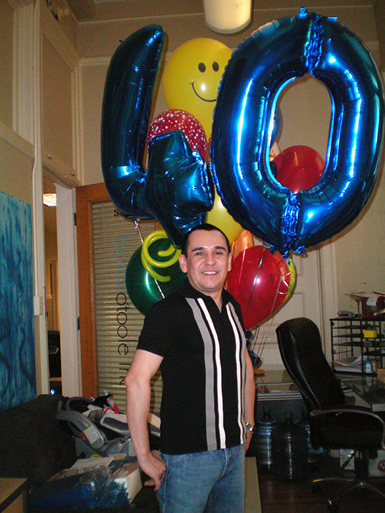 40th Birthday Balloon Delivery in Denver | BalloonsDenver