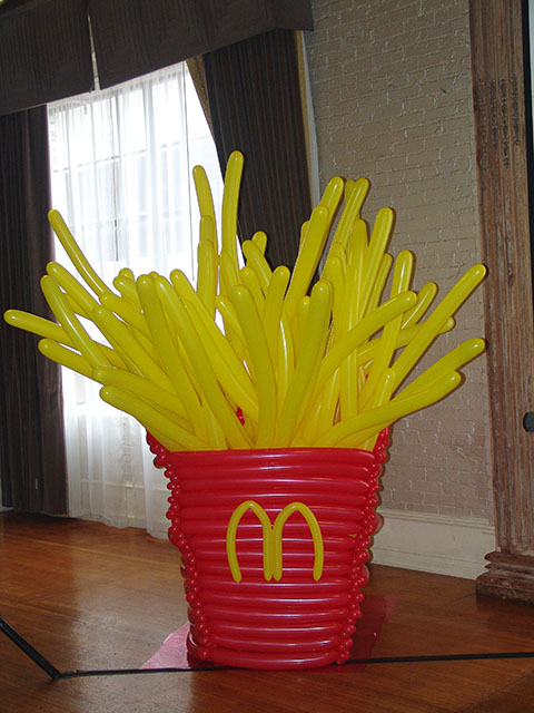 McDonalds Balloon French Fries Denver