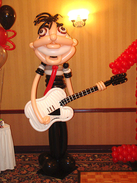 my chemical romance balloons birthday party