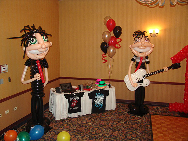 my chemical romance balloons