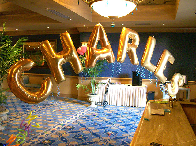 Balloon Name Arch