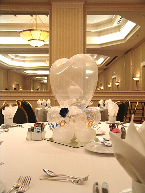 Valentines Day Wedding Balloon Centerpieces Denver