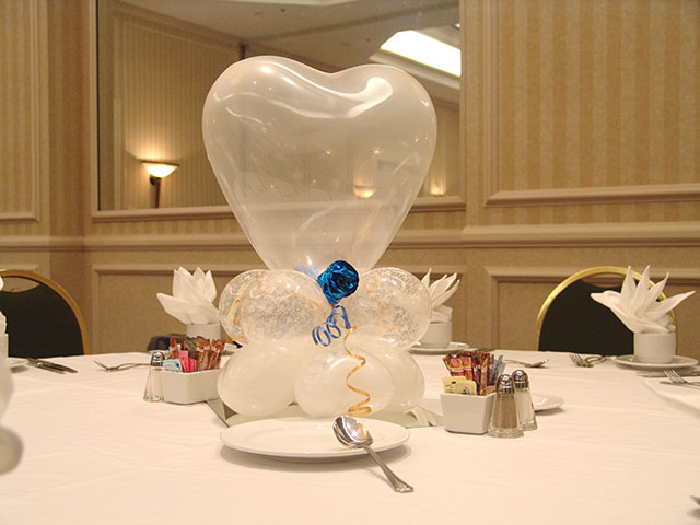 Valentines Day Wedding Balloons Denver