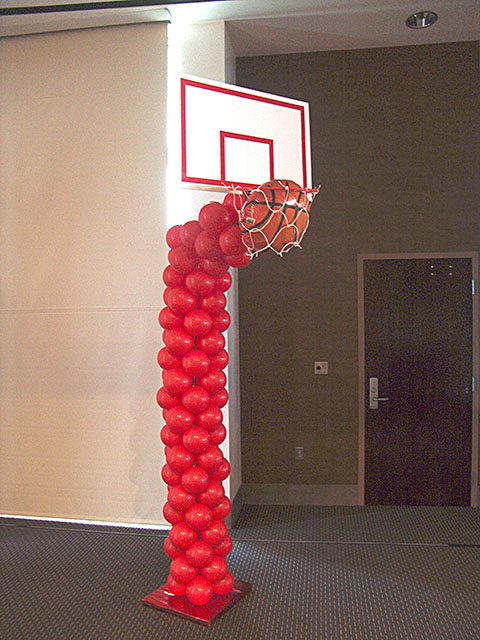 basketball balloon sculpture denver