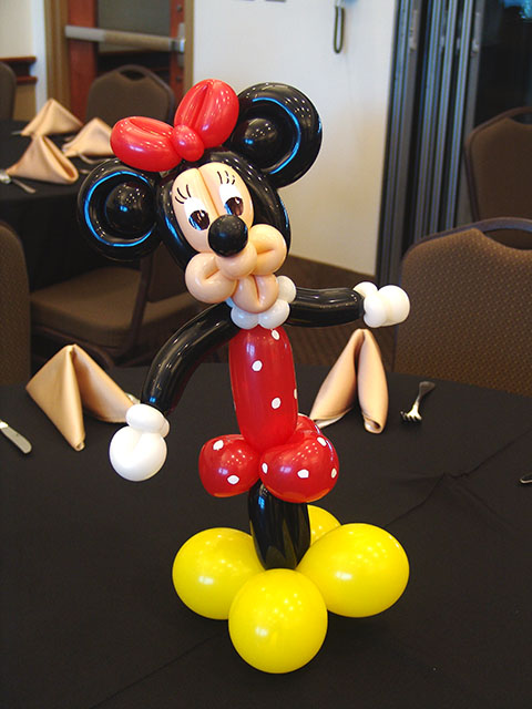 minnie mouse balloon centerpieces denver