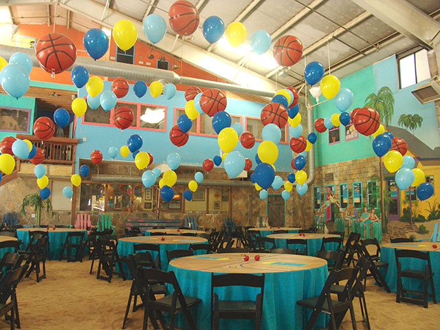 Balloon Basketball themed party denver