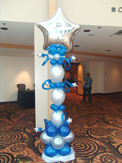 awesome balloon column denver