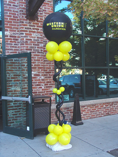 western union station balloons denver