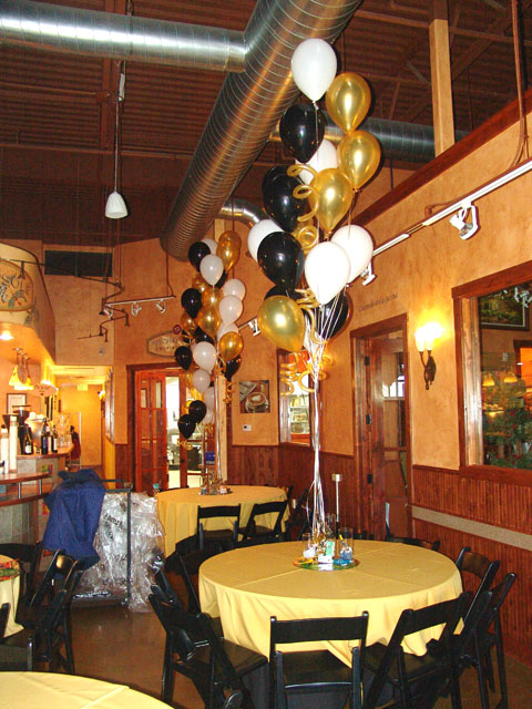 50th birthday party balloon bouquets denver