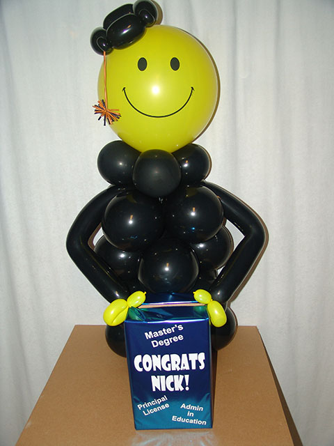 graduation awesomeness balloon fantastic coolness