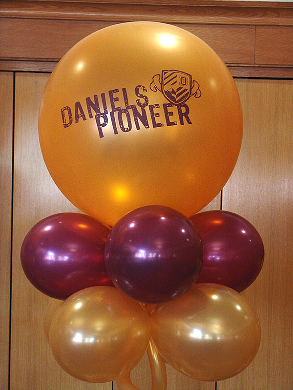large printed balloons