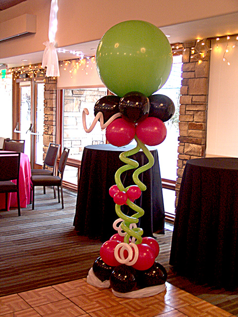 unique balloons party favors ideas