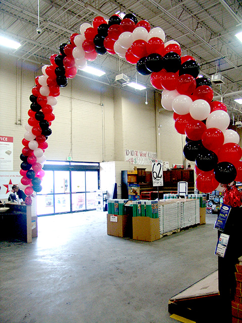sale balloon arch retail