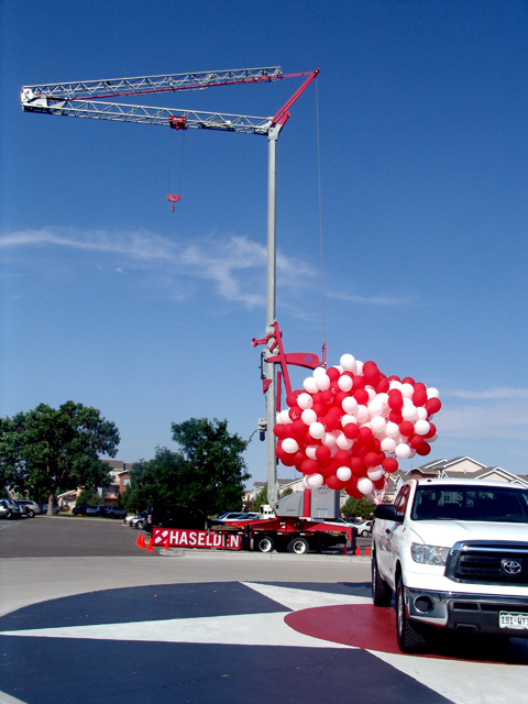 haselden construction 40 years balloons