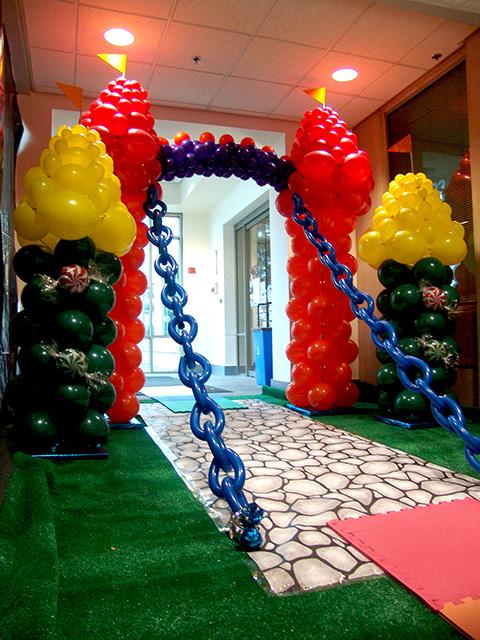 denver balloon castle