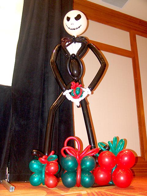 jack the pumkin king balloon sculpture