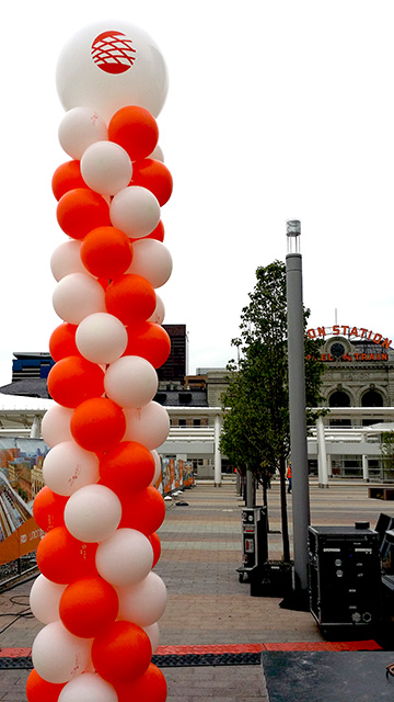 Grand reopening of union station denver balloons